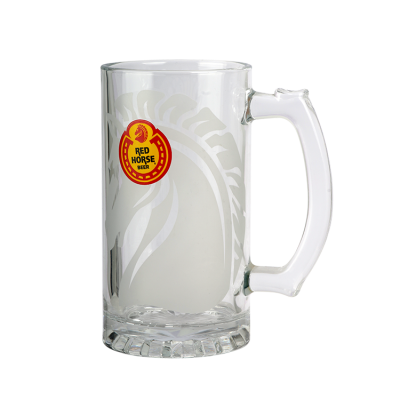 Customized 450ml beer glass cup
