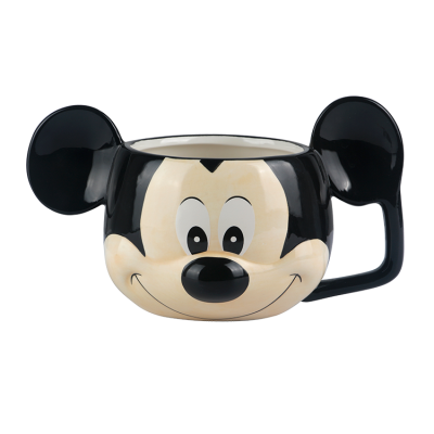Customized Creative 3D Mickey Gift Ceramic Mug