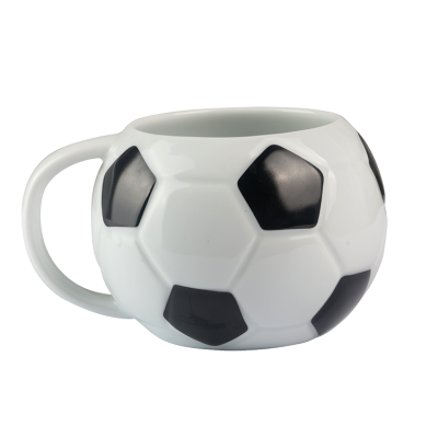 Customized Creative 3D Dog  Or Football Gift Ceramic Mug